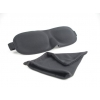Jet Rest luxury blackout sleep eyemask black