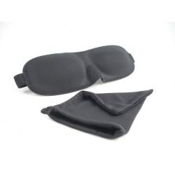 Jet Rest luxury blackout sleep eyemask black