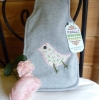 Chick grey travel hot water bottle
