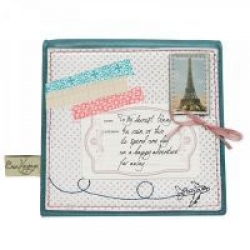 Bon Voyage Mini Square Purse by Disaster Designs