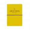 Happy Jackson yellow Great Ideas travel journal/planner