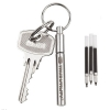 True Utility silver clip-on Telepen handbag pen and refills