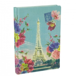 Rendezvous Eiffel Tower Paris Notebook