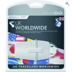 UK to worldwide travel adaptor plug - Adaptour 2000