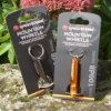 Lifesystems anodised mountain whistle on keyring