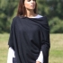 Luxury cashmere travel wrap/poncho/pashmina Midnight Black