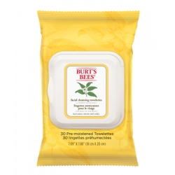 Burt's Bees facial cleansing wipes with white tea extract