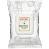 Burt's Bees sensitive skin facial cleansing wipes with cotton extract