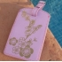 Cherry blossom luggage tag