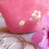 Cherry Blossom Make-up purse