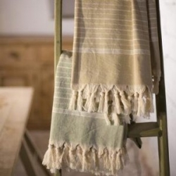 Fair trade Turkish towels/sarongs by Nkuku