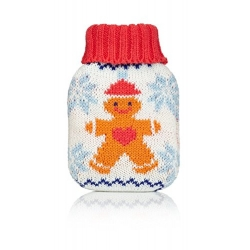 Knitted Gingerbread Man Mini Winter Hand Warmer