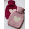 Mini travel hot water bottle - pink or fuchsia by Gisela Graham