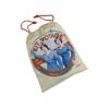 Natives Luxury Comfort Flight Travel Kit; eyemask, socks, earplugs, travel pillow, drawstring bag; Pour garder la tete dans les nuages