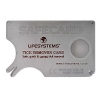 Lifesystems tick remover card with magnifying glass