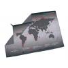 Lifeventure Soft Fibre Trek Towel – World Map Explorers Grey