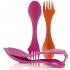 Light My Fire Sporks and Case - fuchsia and orange