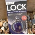 Design Go link lock travel padlock and removable cable