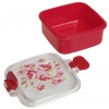 Paisley rose little snack pot