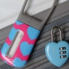 Design Go padlock and luggage tag set