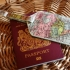World map luxury luggage tag by Wild and Wolf