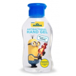 Minions antibacterial hand sanitiser gel 60ml