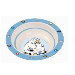 Moomin Melamine Baby Cereal Bowl