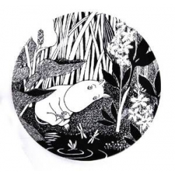 Moomin melamine picnic plate - The Dreaming