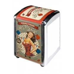 Natives (Comptoir de Famille) French 1950s vintage kitchen retro La Vie Boheme paper napkins/serviettes dispenser