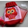 Owl design pocket hand warmer