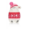 Hot Buddies Knitted Polar Bear Pink & White Winter Mini Hand Warmer