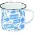Rob Ryan enamel mug - Listen to the World