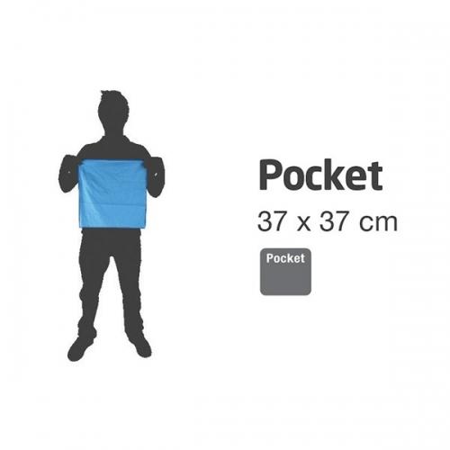 Lifeventure Soft Fibre Pocket Travel Towel - Blue