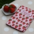 Gisela Graham strawberry patch passport cover