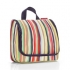 Reisenthel hanging travel washbag - stripes WH3032