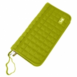 Grass Green passport travel wallet and organiser by Lug Life