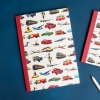 Retro Vintage Transport  A5 Lined Notebook