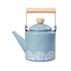 Lido Blue Enamel Stove Kettle - Mini Moderns Scandinavian Collection by Wild & Wolf