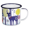 Day Enamel Mug - Folklore Collection Wild & Wolf