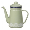 Lichen Green Enamel Coffee/Teapot - Mini Moderns Scandinavian Collection by Wild & Wolf