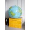 World Map Inflatable Globe Beach Ball