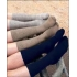 Tilley fast drying black travel socks
