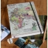 World map A5 travel journal